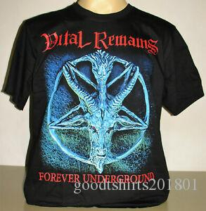 Vital Remains Forever Underground Camiseta Talla S M L Death Metal Band