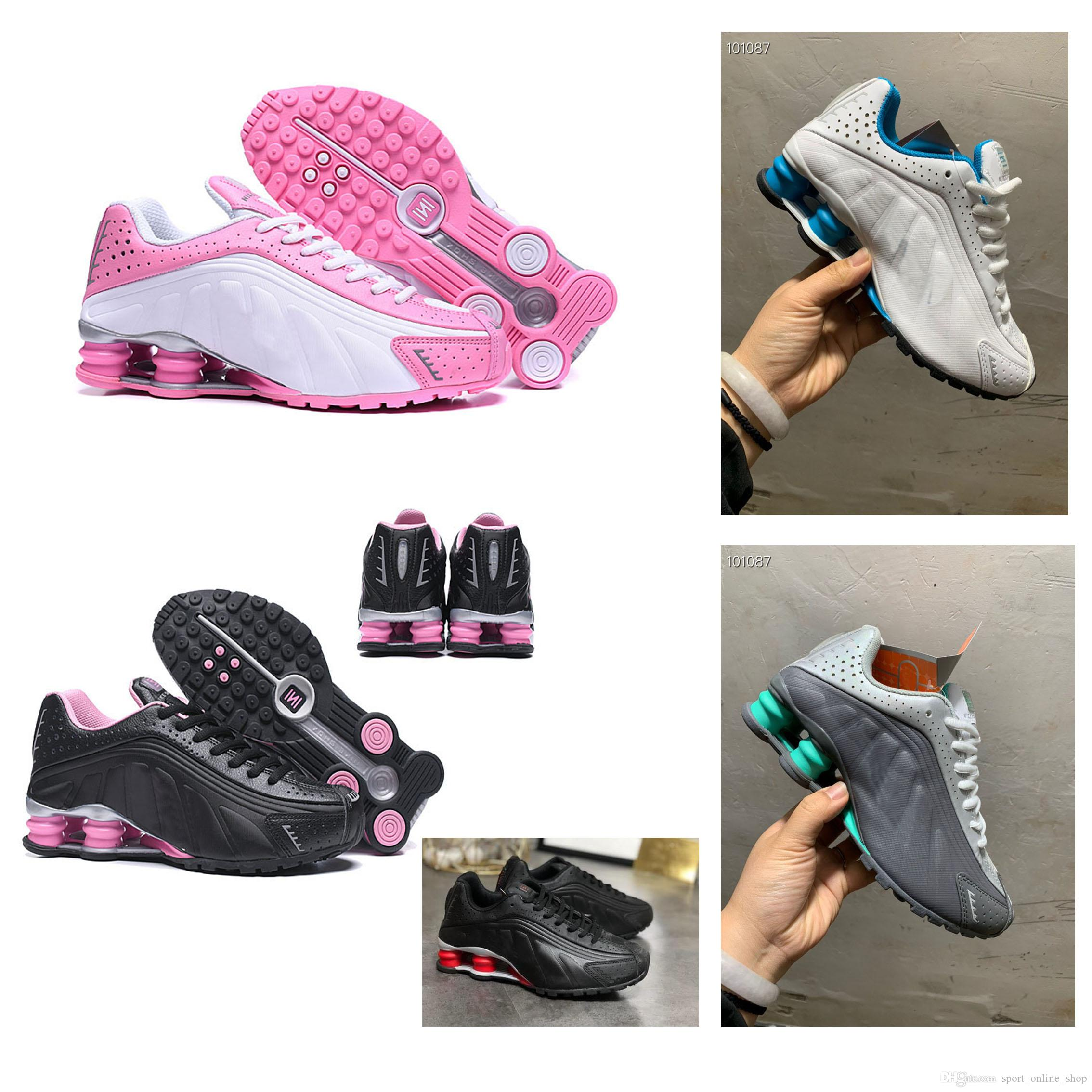 revendeur 43296 c5977 Women sports shoes Zapatos Hombre Shox Chaussures R4 Nz Designer Sneakers  women Sport Trianers Tn Athletic Shoes Sizes Eur36~40