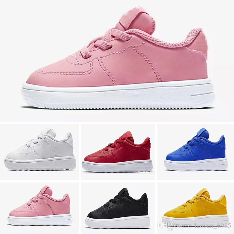 2018 Just Do It Boy girl Running Shoes 1 Low Men Sneakers Forces ... 5e857919b