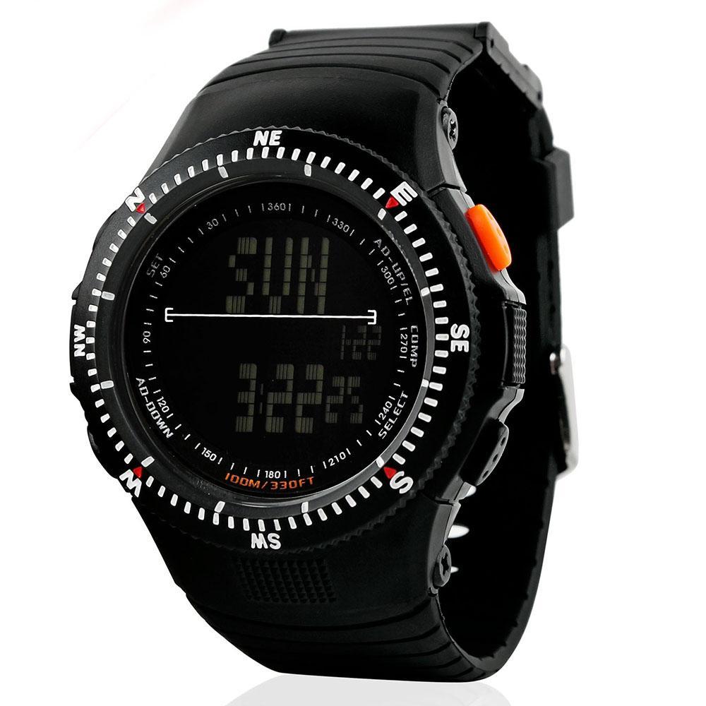 9f978df34b7e Compre Hombres Automáticos Relojes Deportivos Reloj Táctico De Caza Relojes De  Pulsera Hombre Reloj De Cuarzo LED Digital Impermeable Aaa Kits De Viaje De  ...