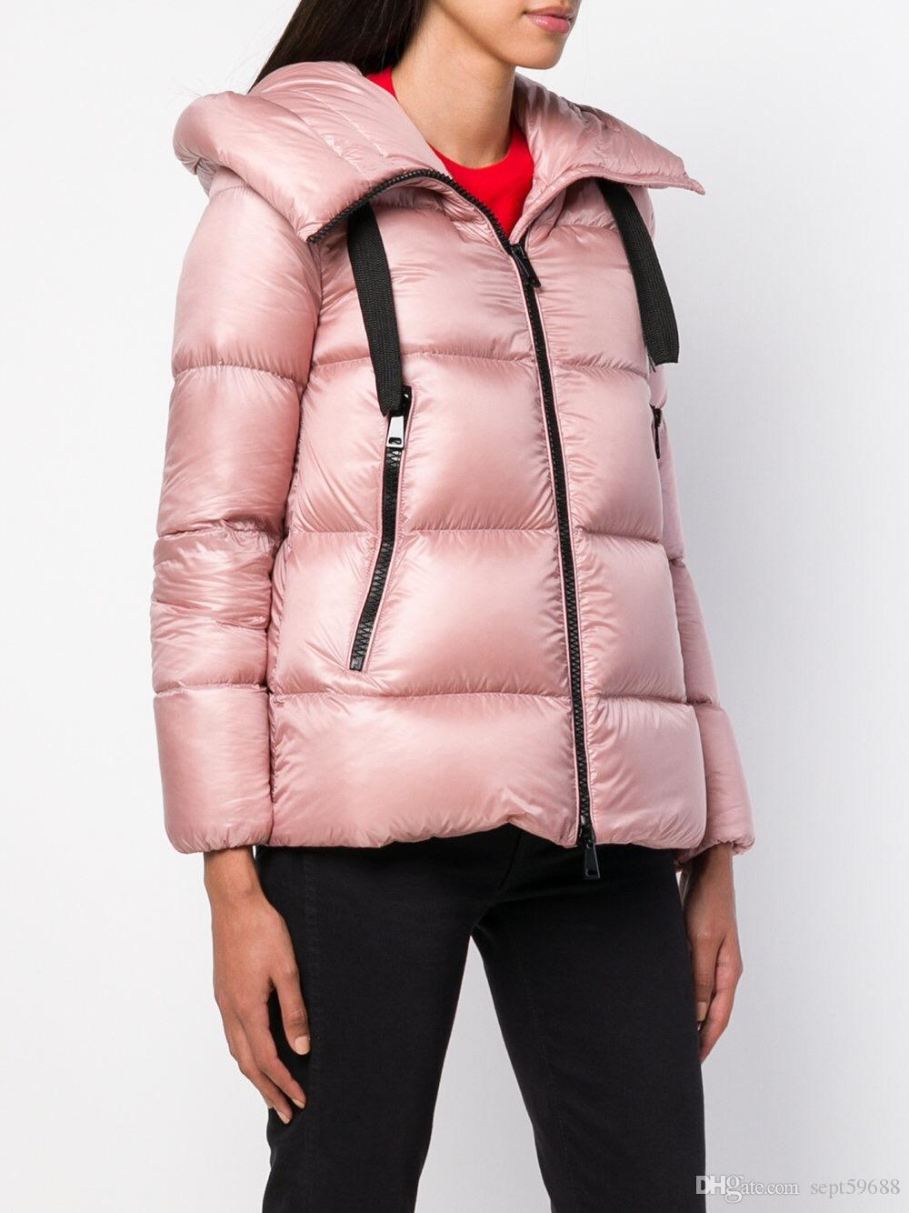0a2878a42 2018 NEW M1 Fr woman Casual hooded down jacket high quality white duck  winter parkas brand design winter outerwear