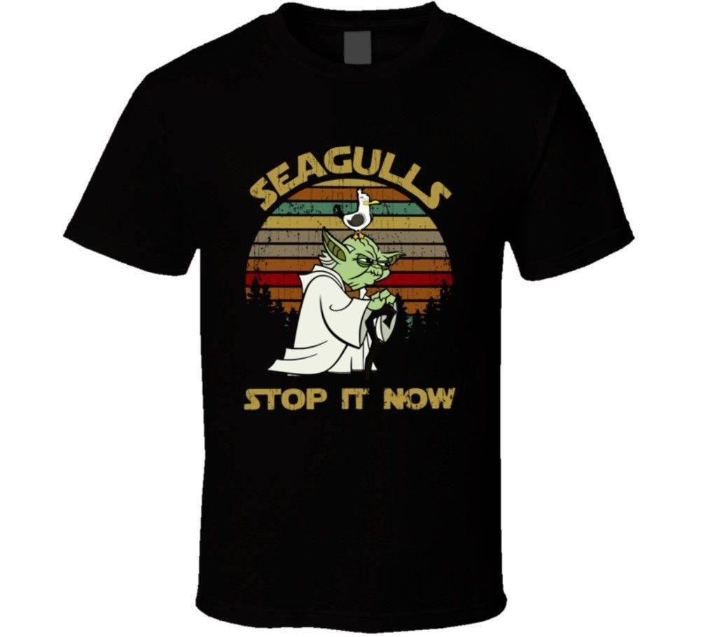 41e22f5e5 Yoda Seagulls Stop It Now Vintage Christmas Gift Unisex T Shirt Funny  Tshirt Metal T Shirts From Goodencounter60, $11.63| DHgate.Com
