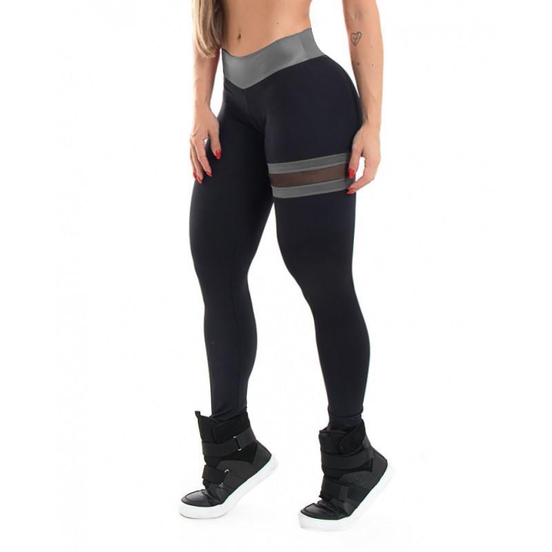 fd1e37cda09b Push Up Leggings Women Gothic Fitness Clothing Workout Mesh High ...
