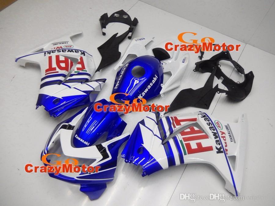 3 Free gifts New Fairing Kits For KAWASAKI Ninja250R 250R EX250 2008 2009  2010 2011 2012 Ninja set fairings bodywork Cool FIAT +Tank cover