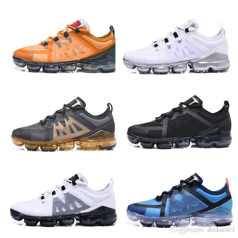 hot sale online c1e9c 70d77 Acheter Nike Air VaporMax 2019 Run Utility Nouveau 2019 Vap Casual Ou  Chaussures TN Plus Maxes Femme Choc Chaussures De Course Courir Utilitaire  Mode Hommes ...