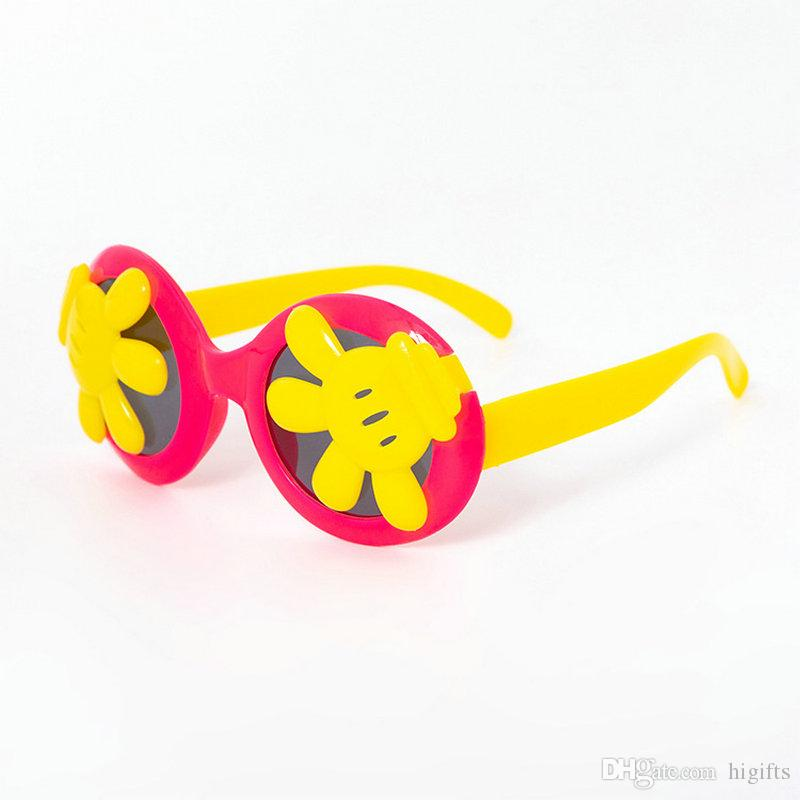 New Designer Sunglasses for Children Fashion Girl Boy Cute Sun glass Baby Kids UV400 Lovely Eyewear