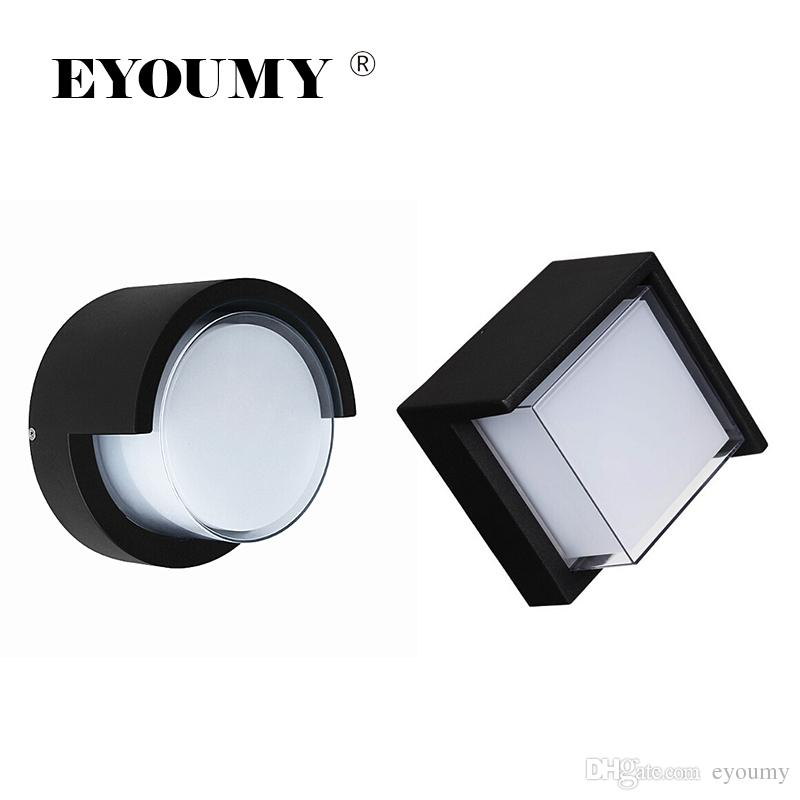 2019 Eyoumy Outdoor Wall Sconce 12w Led Lamps Waterproof Indoor
