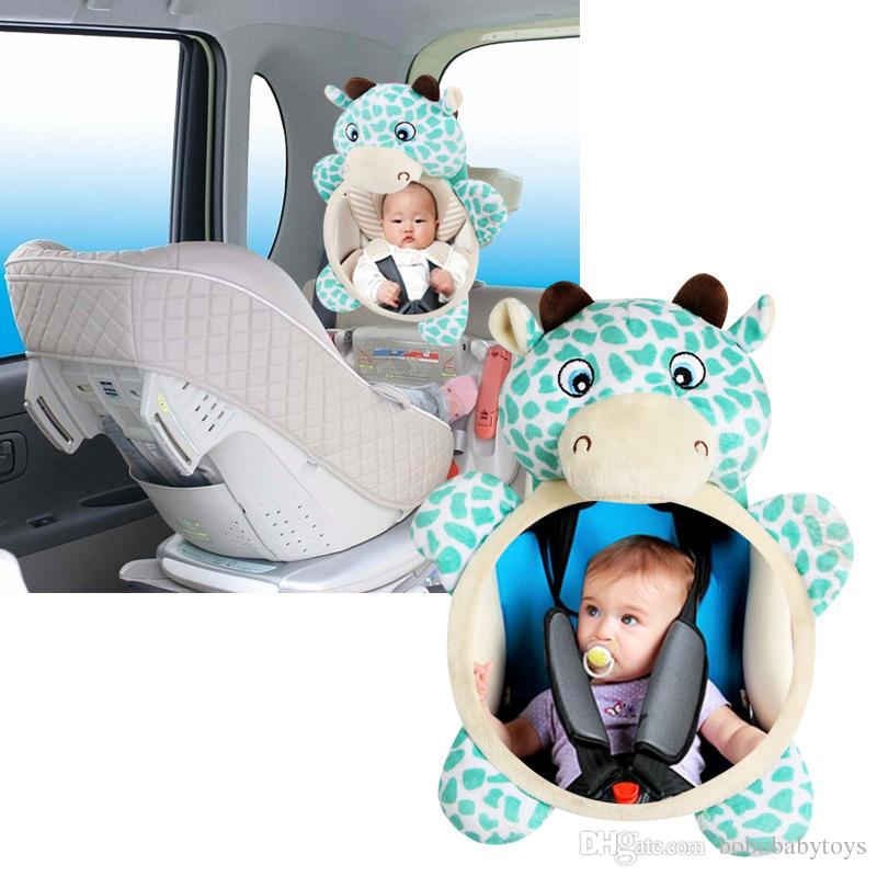 Baby car Seat Car Safety Glass Mirror reverse mounting safety seat rearview observation haha mirror Watch the baby's safety