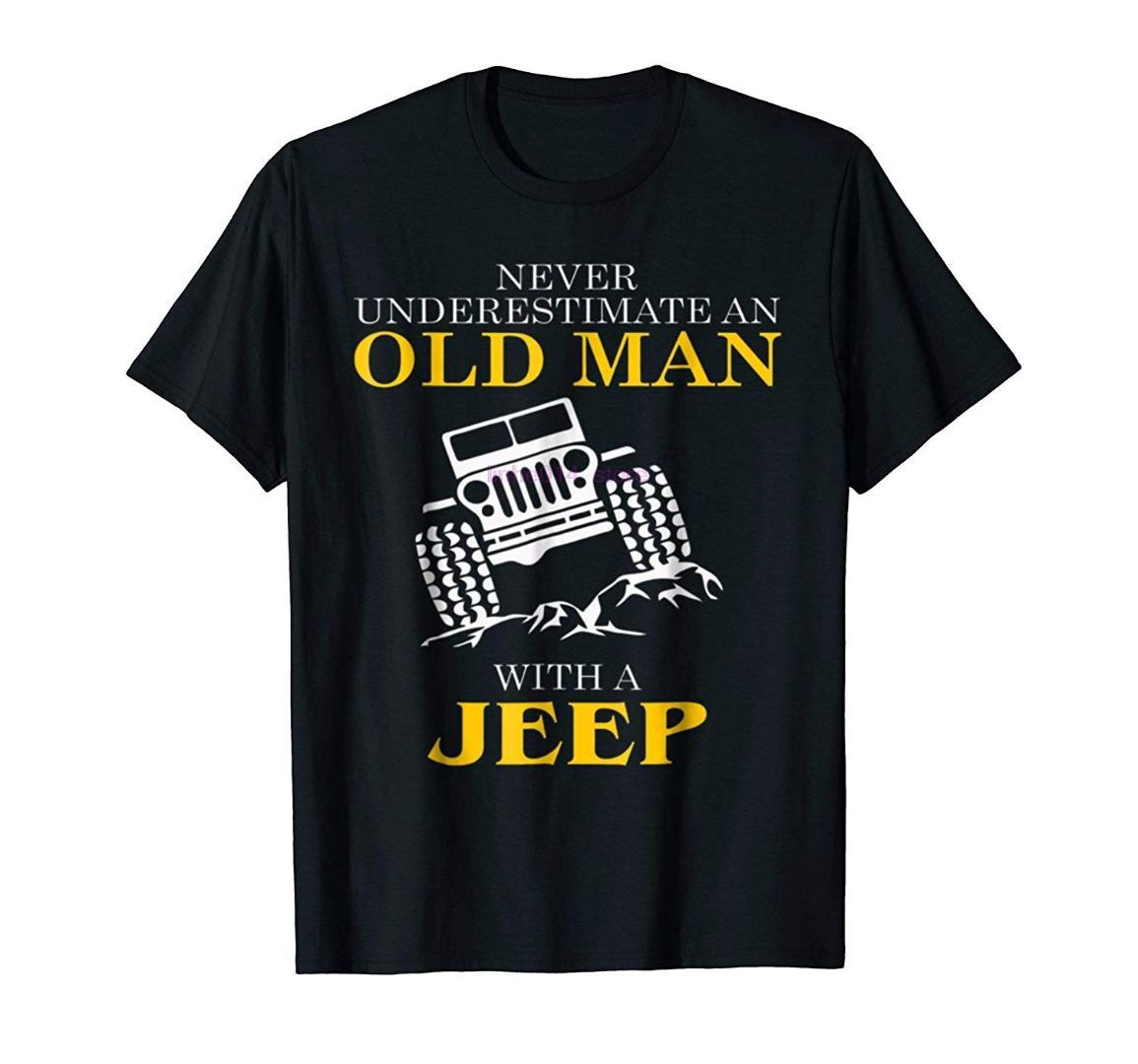 brand men shirt Men s Funny Tshirt Old Man With a Tee