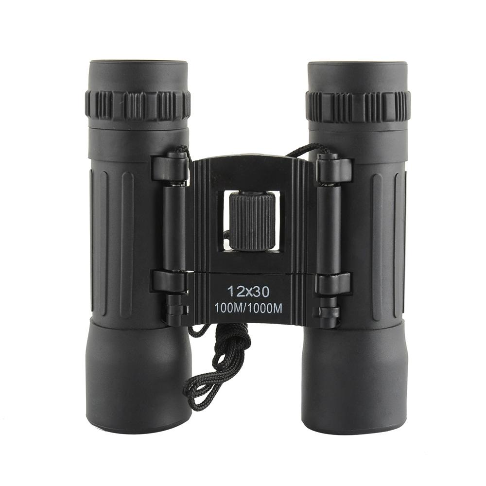 12X30 96/1000m Powerful Binocular Telescope Spotting Scope Military Telescopio for Hunting Camping Hiking Drop Shipping