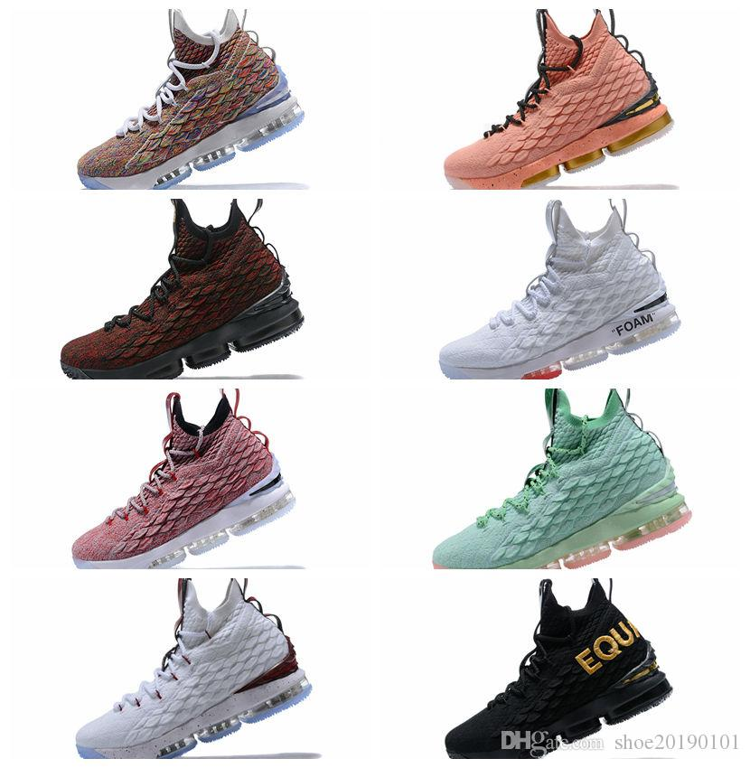 brand new 3fbf3 c67f6 2019 Ashes Ghost Floral Equality 15 Basketball Shoes Mens Outdoor Shoes  Sneaker Mens Sports Classic 15s Outdoor Athletic Shoes Size 40-45