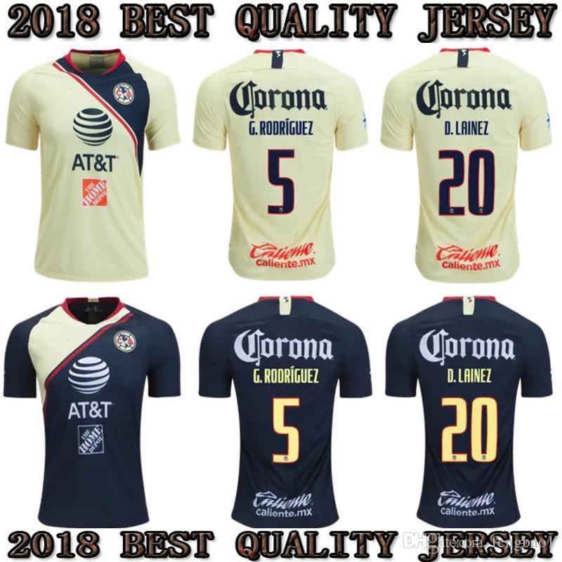 481da282a76 2019 2018 2019 Mexico Club America Soccer Jerseys 18 19 Club America  C.BLANCO Home Away D.BENEDETTO R.SAMBUEZA O.PERALTA Soccer Uniforms From  Fengbao1