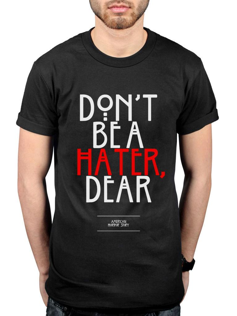 861864822eaf Official American Horror Story Hater T Shirt Unisex Haunted Harmons TV  Series As Funny Unisex Casual Tshirt Top Make T Shirts Online Tees Design  From ...