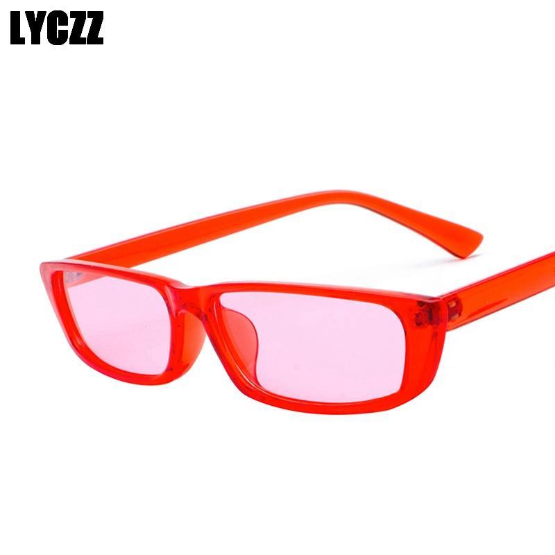 c04b943b98 Acheter LYCZZ 2019 Nouvelle Mode Unisexe Rétro Hip Hop Lunettes De Soleil  En Plastique Vintage Spectacle Cadres Hommes Femmes Masque De Conduite  Oculos Grau ...