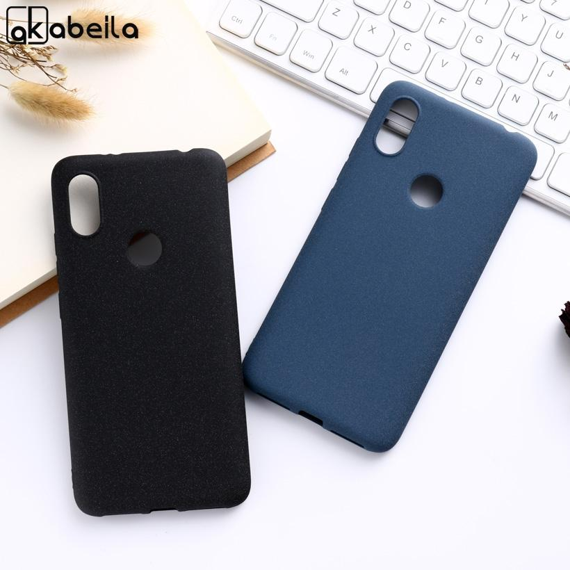 Mobile Accessories Mobile Phone Cases Covers AKABEILA Phone Cases For Nokia 6.1 Plus X6 2018 Case Silicone Matte Covers For Nokia