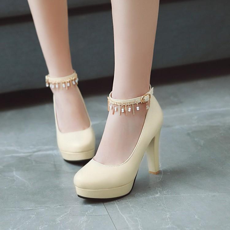 3374aeb322 Big Size 11 12 13 14 15 16 17 Ladies High Heels Women Shoes Woman ...