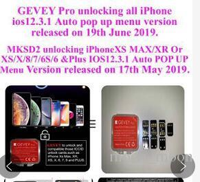 100% tested Gevey black chip IC iOS12.3.3 12.4 card Smart Activation Unlocking iPhone Max XR XS X 8 7 6 5s SE blacksim one-sim