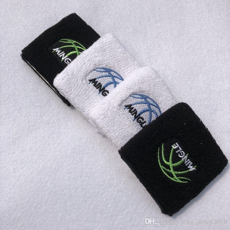 1 pc 100% cotton Wristbands Sport Sweatband Hand Band Sweat Wrist Support Brace Wraps Guards For Gym Volleyball Basketball #40386
