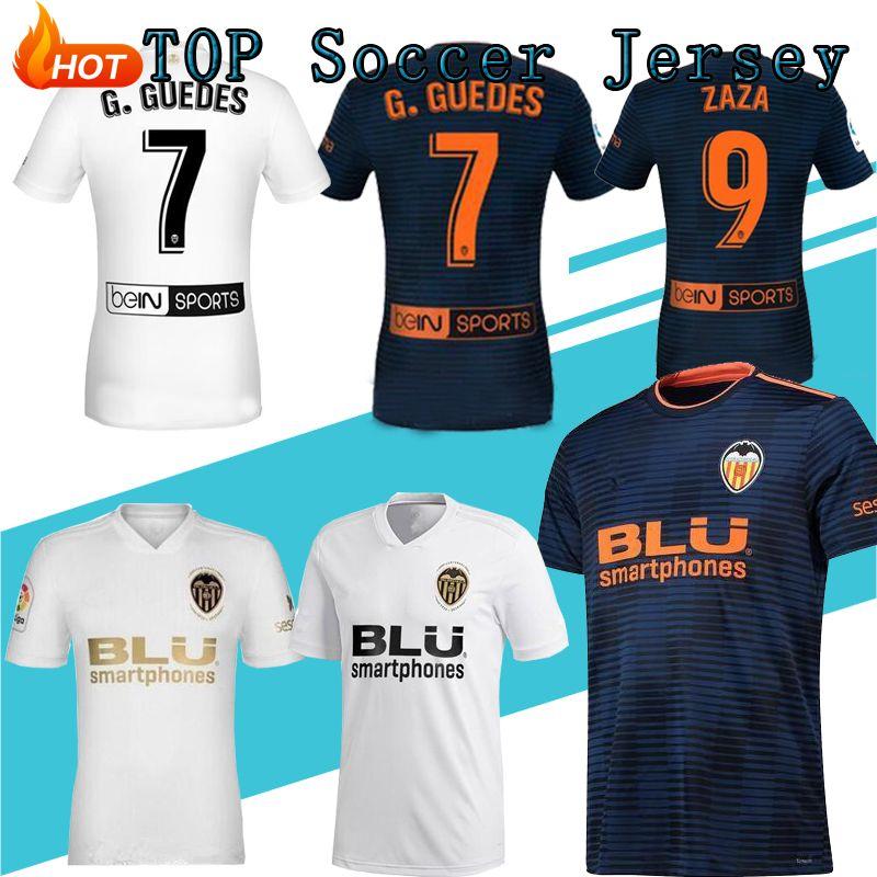 wholesale dealer ca3ac 66a56 Thai quality Valencia 2019 Golden Soccer Jerseys Chandal valencia Jersey  Valencia CF 18 19 Batshuayi Gameiro Kondogbia C.Soler Parejo