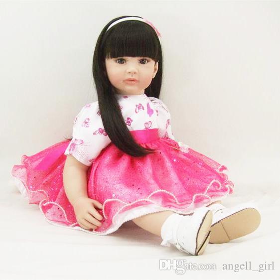 27a59ead87 Compre Newborn Reborn Baby Dolls Tela De Silicona Cuerpo Muy Suave Baby  Alive Doll Para Niñas Princesa Kid Regalo Bebe Reborn Dolls A  100.51 Del  ...