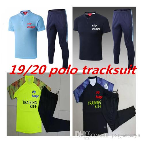 best website cheap prices well known 2019 19 20 City Soccer Jerseys Polo TRACKSUIT Outfits FULL ZIPPER ...