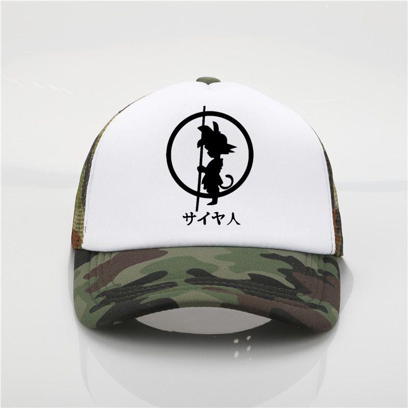 Brand Dragon Ball Z Goku Baseball Cap Adjustable Dad Hat Men Cotton Baseball  Cap Women Hip Hop Cap Baseball Caps For Men Mesh Hats From Menceng1986 2df243a55a2