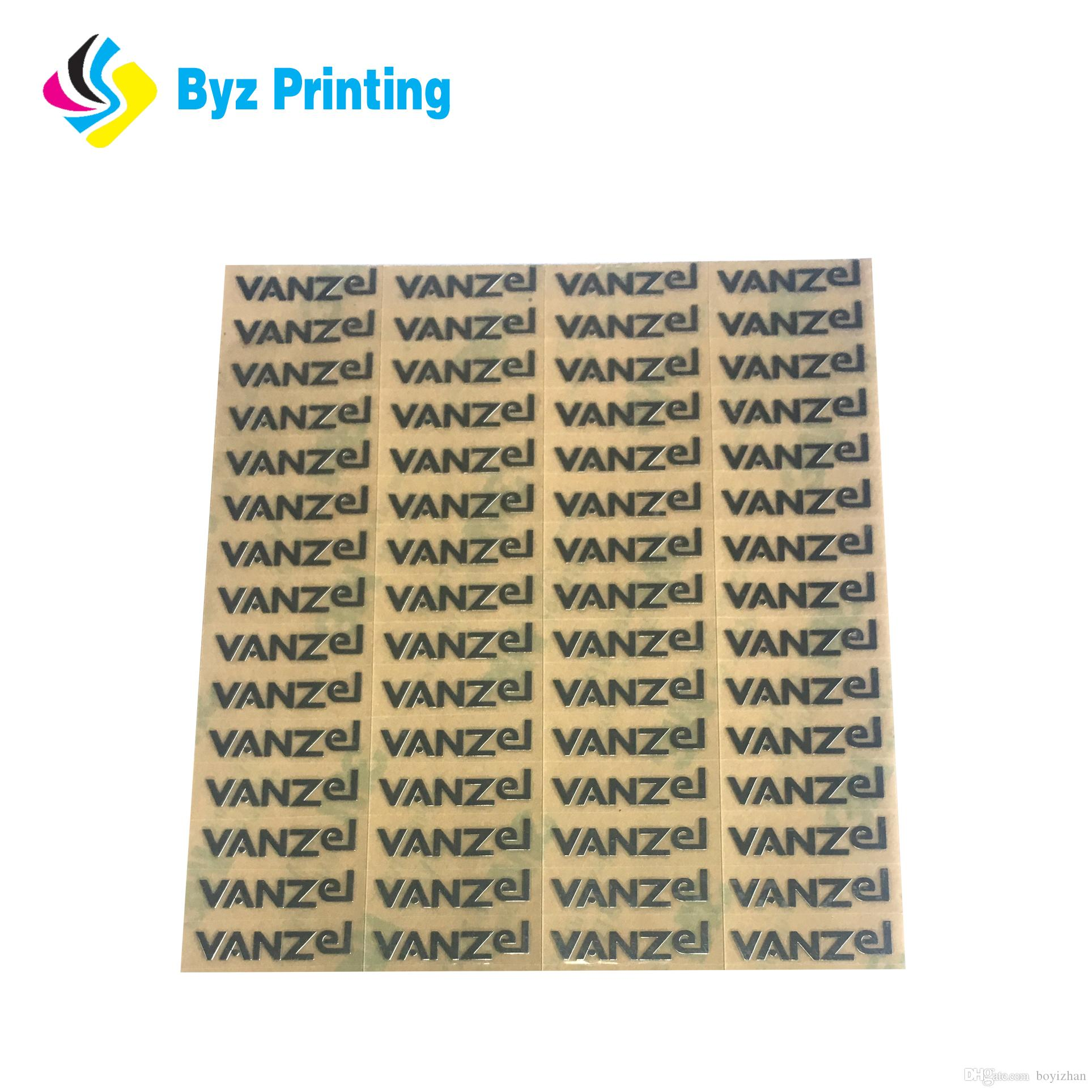Professional Watch dial Customized logo Metal Electroforming Foil 3M Self  Adhesive Label Sticker