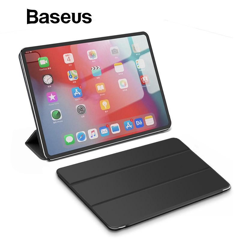 22b7e723a6228b Smart Folio Case For 12.9 IPad Pro 2018 Magnetic Auto Sleep Wake Up Case  For Apple IPad 2018 For 11 IPad Pro Leather Tablet Bags 8 In Tablet Case  With ...