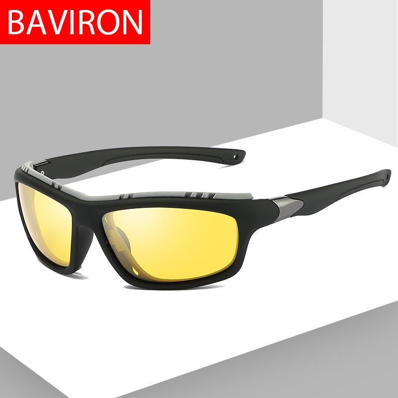 4c9378f538 Compre BAVIRON Gafas De Sol Antivientos De Arena Para Hombres, Deporte  Polarizado, De Noche, Con Gafas De Sol, Gafas De Sol De Pesca Polaroid Para  Hombres A ...