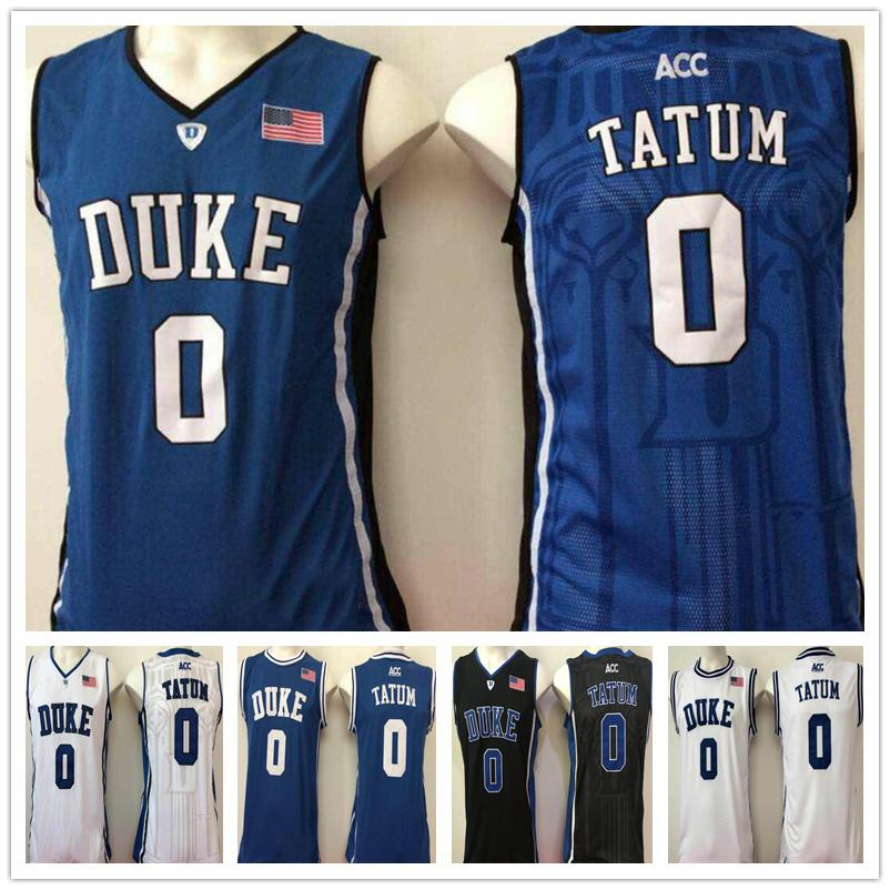 online retailer 09f3b 5a245 Mens Duke Blue Devil Jayson Tatum College Basketball Jersey High School  Stitched Name&Number Size S-XXL