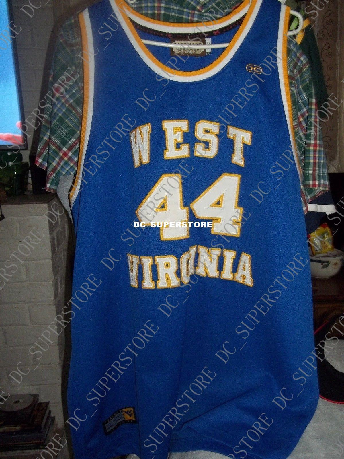 272b419ce 2019 WEST VIRGINIA MOUTAINEERS  44 JERRY WEST JERSEY MENS 3XL BY HARDWOOD  LEGENDS From Dc superstore