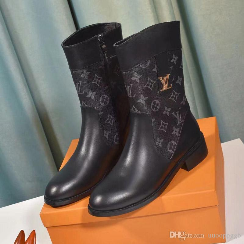 2020QZ new ladies casual fashion short boots luxury ladies travel party shoes, leather material fast delivery original box packaging