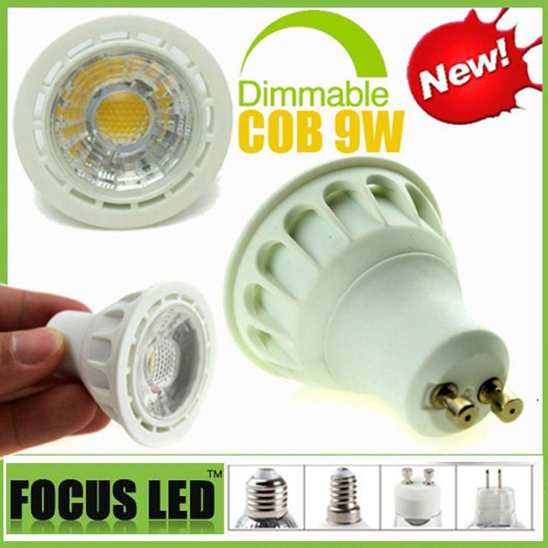 Lights & Lighting Led Strips Supply Gu10 7w Cob Led Bulb Light Energy Saving High Performance Bulb Lamp 85-265v Warm White Latest Fashion