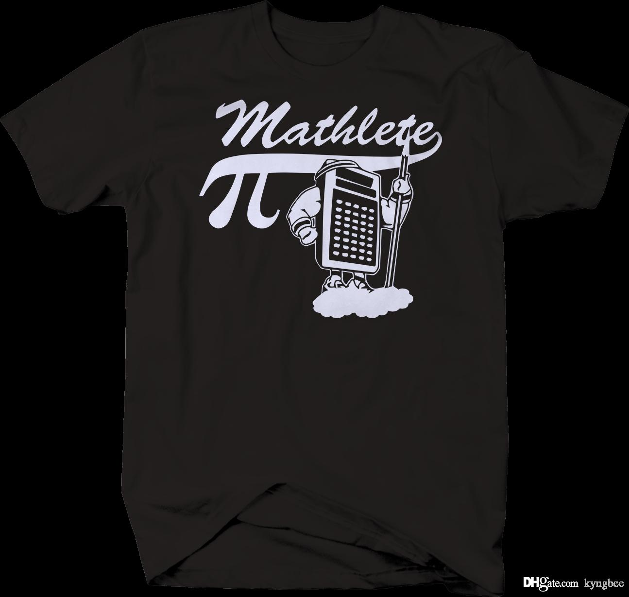 566ddedc0 Mathlete Math Olympics Pi Calculator Nerd Funny T Shirt T Shirts Sale  Novelty Shirts From Kyngbee, $10.72| DHgate.Com
