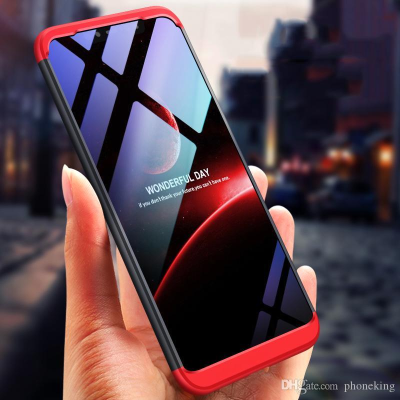 size 40 b7d75 00f8d Original Case for Xiaomi Mi 8 SE A2 Lite Max 3 Redmi 6A Case 360  All-inclusive Shockproof Hard for Xiaomi Mi8 lite Cover