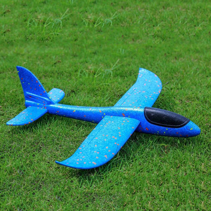 c56cc333bd Compre Tamaño Grande 48 Cm 38 Cm 35 Cm Tiro A Mano Avión Planeador Volando Aviones  EPP Avión De Espuma Modelo Party Bag Fillers Juego De Lanzamiento Al Aire  ...