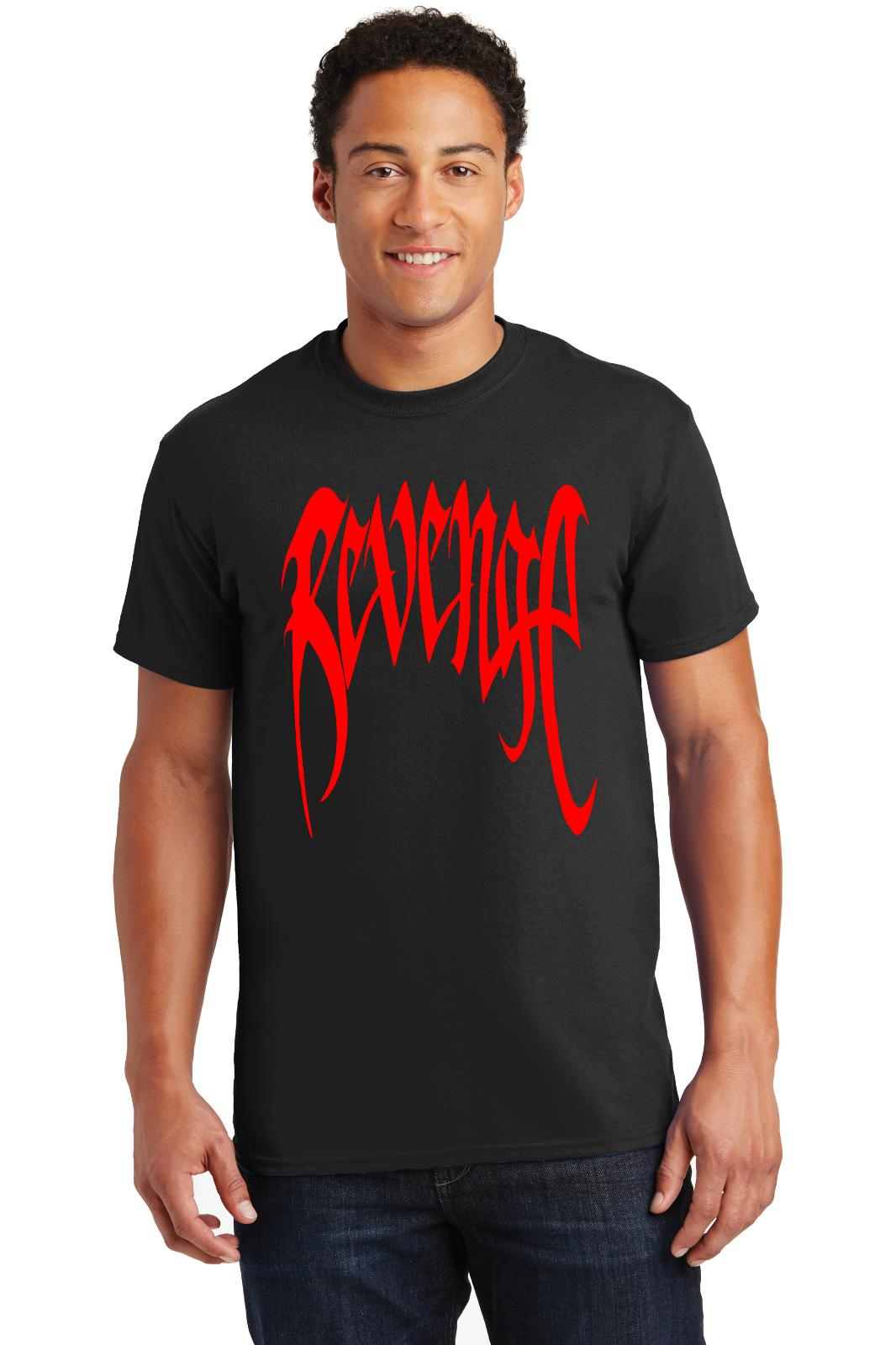 0fc82d5780aa Revenge T Shirt XXXTentacion Skull Kill Savage RAP Music Tee ShirtsFunny  Unisex Casual Top Humorous Shirts Buy Tee Shirts From Dragontee, $12.96|  DHgate.Com