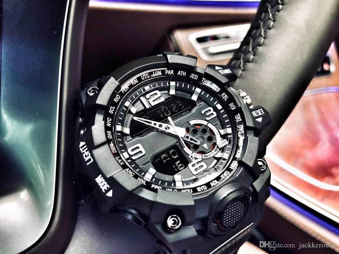 be7b9729b9c0 Compre Reloj Deportivo Para Hombre Famoso Logotipo GWG GG 1000 Reloj Para  Exteriores