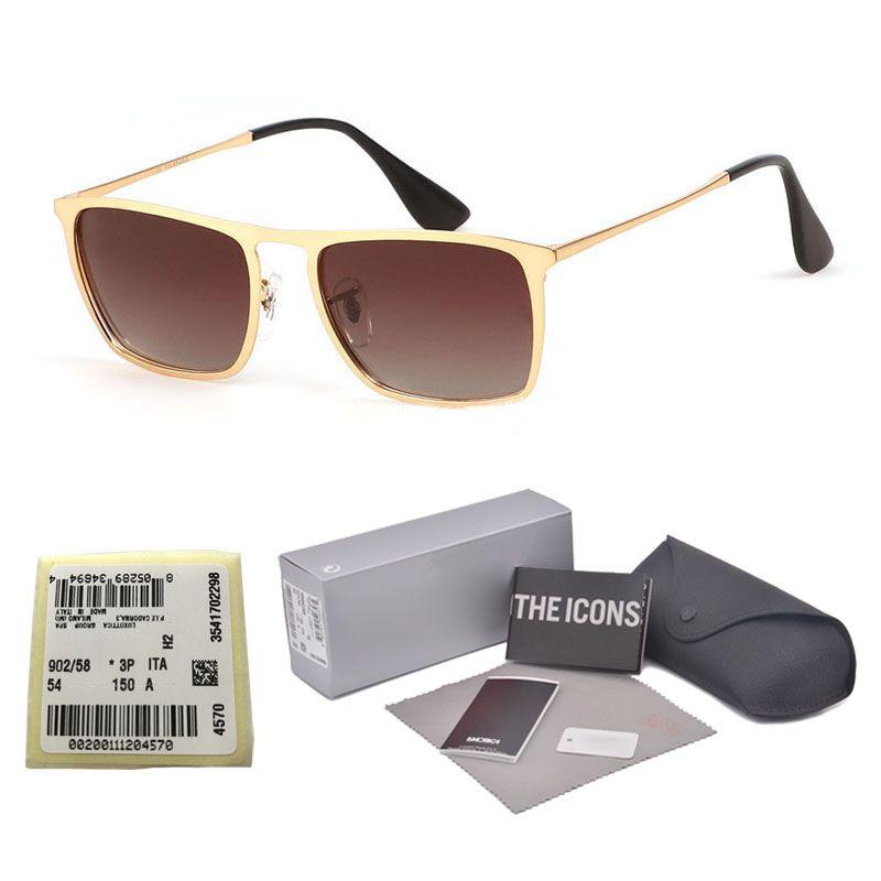 63bfc23b1c Compre Clásico Aluminio Magnesio Gafas De Sol Polarizadas Mujeres Hombres  Conductor Espejo Gafas De Sol Hombre Pesca Mujer Gafas Con Caja Y Etiqueta  De ...