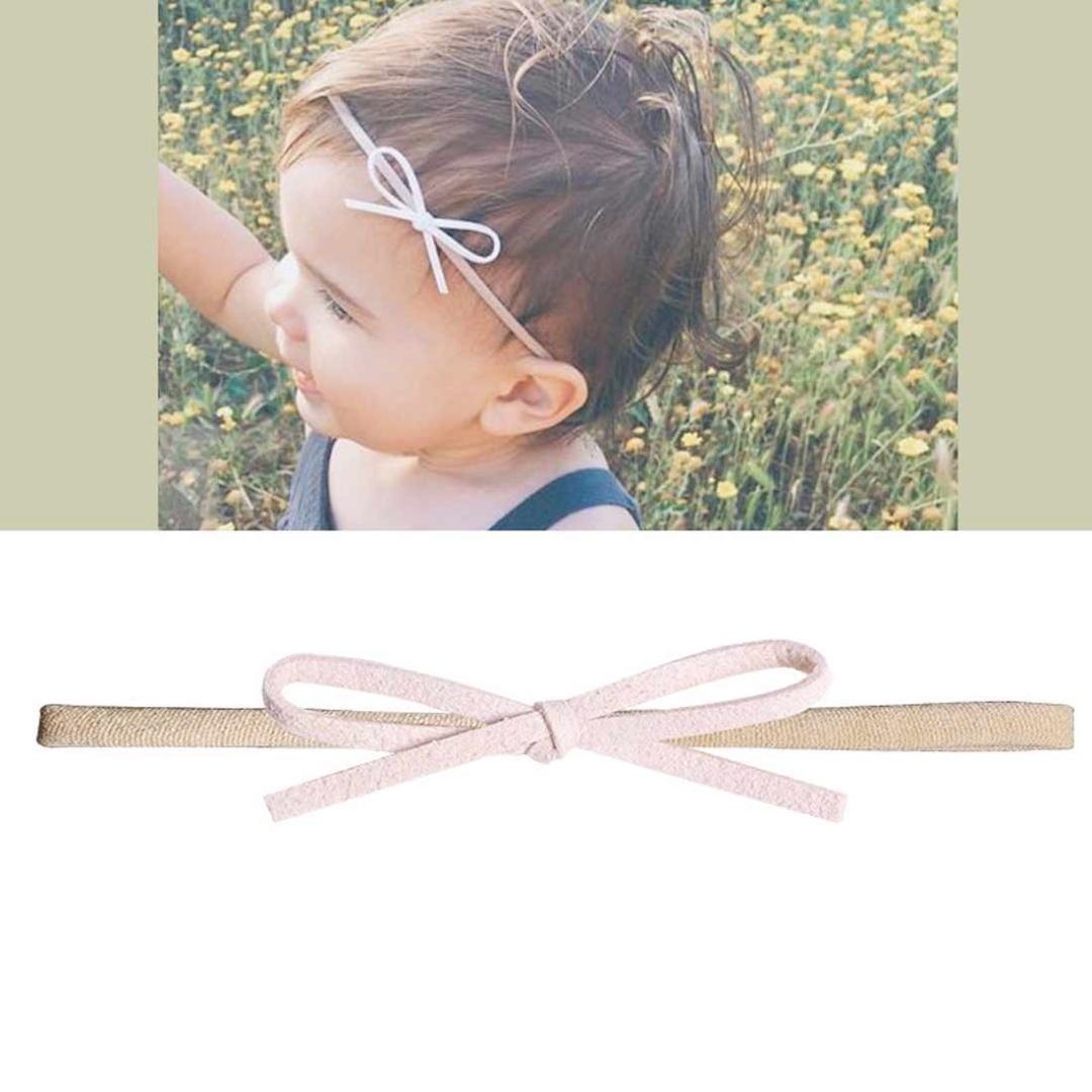 Baby Kinder Haarband Schleife Knoten Stirnband Mädchen Haarschmuck Kopfschmuck