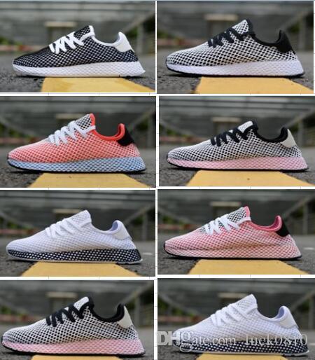 2019 chaussures de coureur Deerupt Pharrell Williams III Tennis Stan Smith HU KPU Designer Mesh Running formateurs zapatos chaussures baskets 36 45
