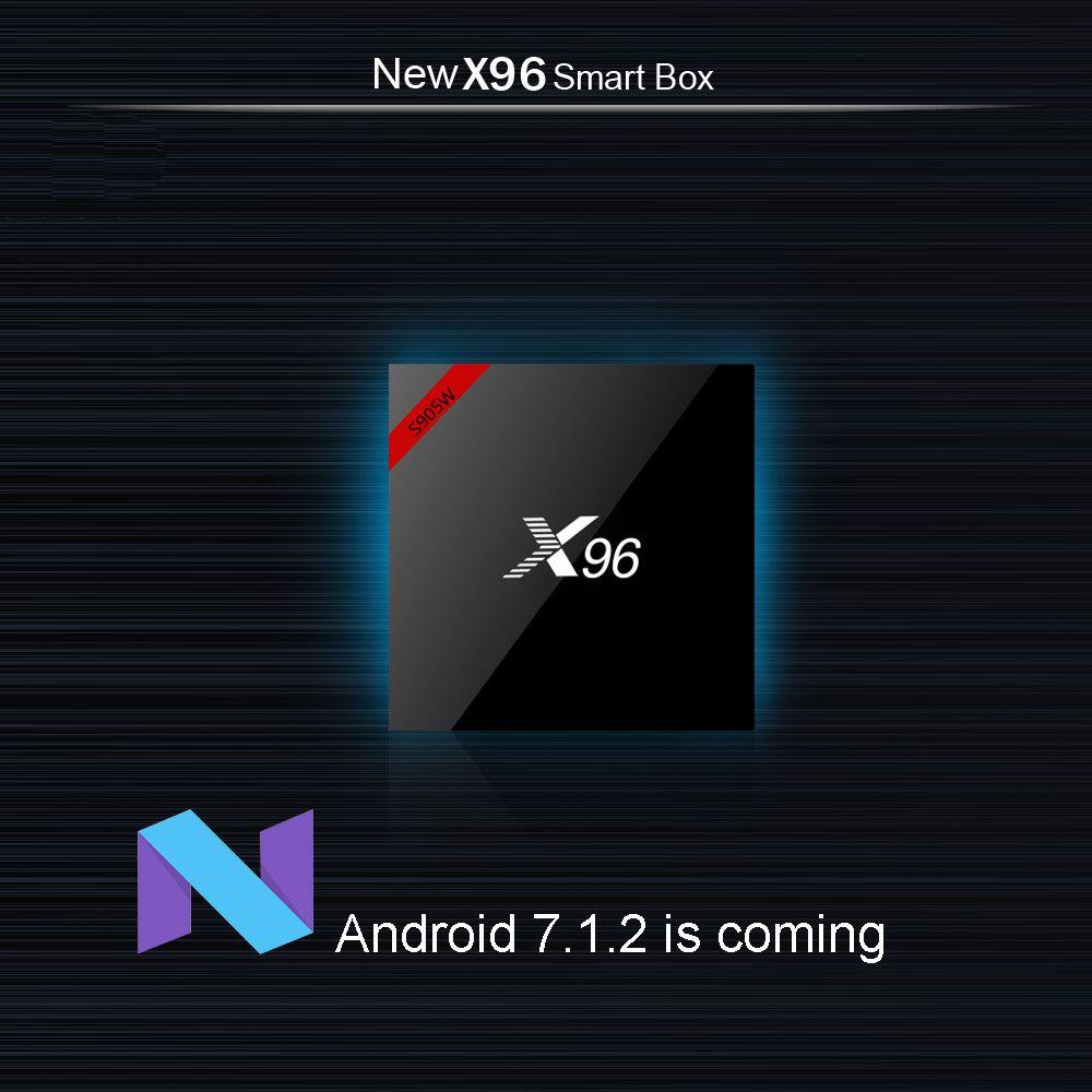 IPTV X96 mini Android 7 1 Smart TV BOX 1G 8G +1200+ NEOTV Arabic Beigium  Morocco PayTV & VOD smart Set top tv Box Online Player Receiver