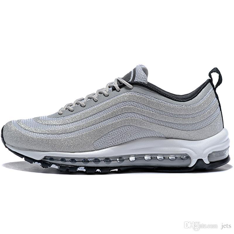 Acquista NIKE AIR Max 97 Shoes Cuscino 97 Scarpe Da Corsa Sneakers  Undefeated Silver Bullet Scarpe Da Design A Basso Costo 97s Uomini Zapatos  Traspirante ... 182fbe8a9fb
