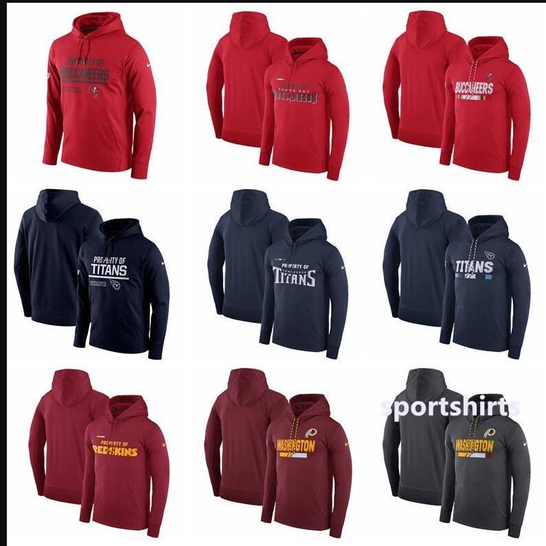 buy popular 2df56 da92a 2018 Men Women Kid SanTampa Bay Buccaneers Hoodies Washington Redskins  Titans Circuit Property Of Performance Pullover Hoodies