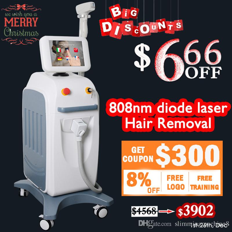 Home diode laser hair removal epilator hair remover laser 808 For Permanent Hair Removal And Skin Rejuvenation
