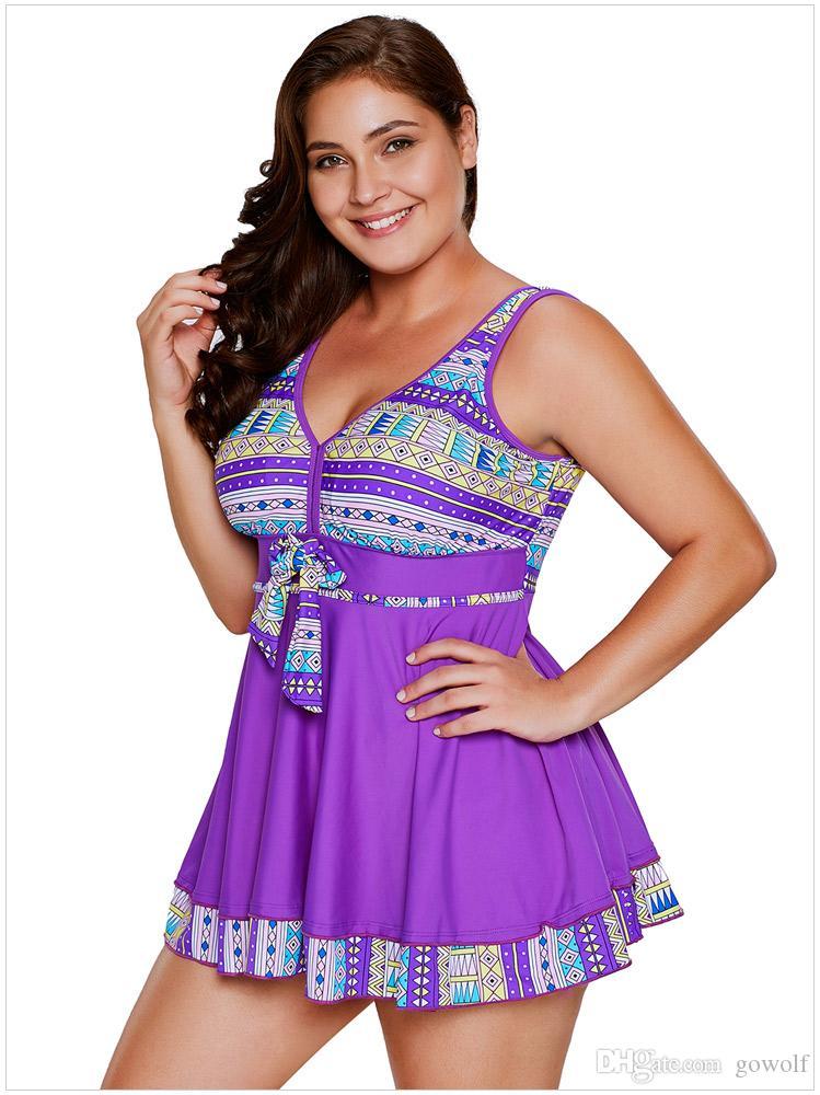 4 Colors M~3X Plus Size Dress Swimwear Bikini Women Clothes Swimwear  Bodysuit Bathsuit Maillot De Bain Trajes De Baño