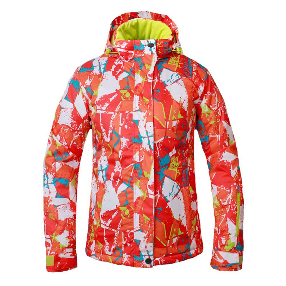 2019 2018 Winter Snow Jacket Women Ski Suit Breathable Waterproof ... 980a27826