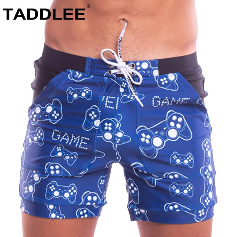 a514b535c0893 2019 Taddlee Brand Sexy Men'S Swimwear Swimsuits Swim Boxer Briefs Trunks  Short Beach Board Shorts Pockets Surf Bathing Suits Gay New From  Clothfirst, ...