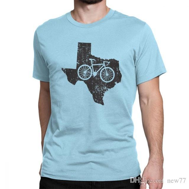 Compre Mens Designer De Roupas De Marca Polo Homem Do Vintage Texas  Ciclismo T Shirt Engraçado Crewneck Tops De Manga Curta Puro Algodão Tee  Plus Size T ... 30b76e66b2990