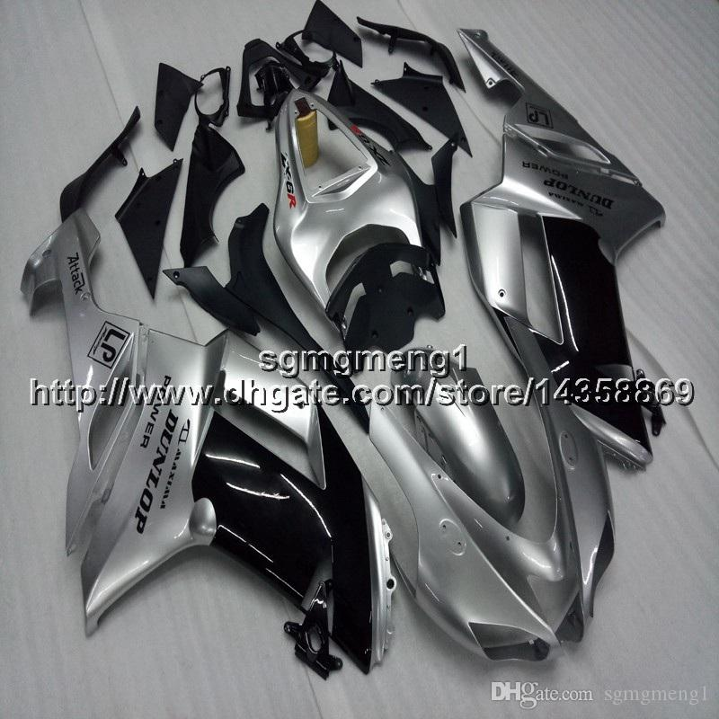 23colors+Screws silvergray motorcycle cowl For Kawasaki Ninja ZX636 ZX-6R 07 08 ZX6R 2007-2008 zx-636 ABS Plastic motorcycle Fairing